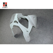 ZXMT Unpainted ABS Nose Front Cowl For Kawasaki Ninja ZX-6R 2000-2002 / ZZR600 2005-2008 UV light curing paint