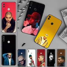 chris brown USA singer Luxury Unique Phone Cover For Huawei Honor 7C 7A 8X 8A 9 10 10i Lite 20 NOVA 3i 3e(China)