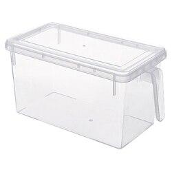 Lodówka do kuchni pudełko do przechowywania świeżych produktów lodówka rozdrabniacz do plastiku pojemnik z uchwytem żywności owoce warzywa pudełka do przechowywania w Pudełka śniadaniowe od Dom i ogród na