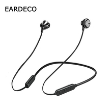 EARDECO Neckband Wireless Earphones Headphones Stereo Hifi Bluetooth Earphone Earbuds Bass Headset with Mic for Phone Xiaomi