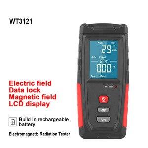 5G 4G Wifi Electromagnetic Field Radiation Detector Tester Emf Meter Geiger Counter Emission Dosimeter Computer Radiometer Test