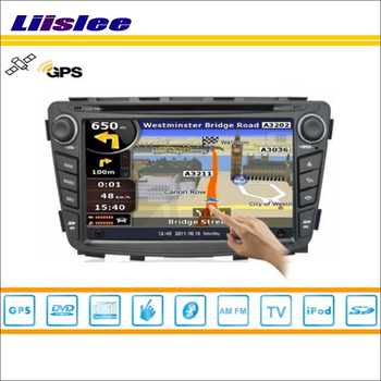 Liislee For Hyundai Verna 2011~2013 Car Radio Audio Video Stereo CD DVD Player GPS Map Nav Navi Navigation Multimedia System