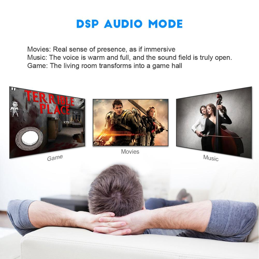 40W  HiFi  Wireless bluetooth Soundbar Speaker 3D Surround Stereo Subwoofer for TV Home Theatre System Sound Bar movie 4