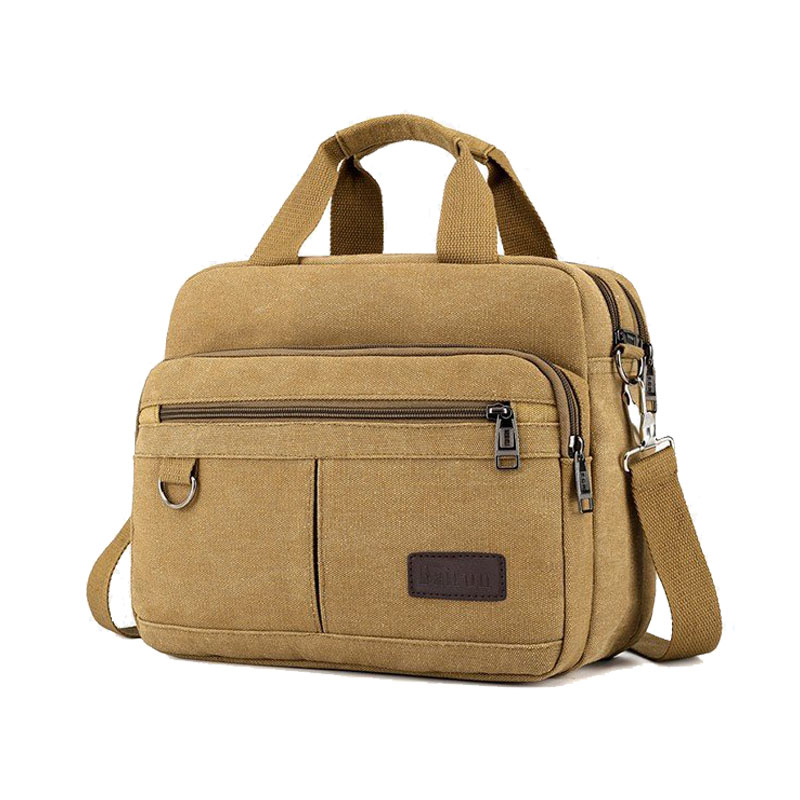 Mens handbag casual multi function shoulder bag briefcase Messenger bag   Casual ToteTop-Handle Bags   -