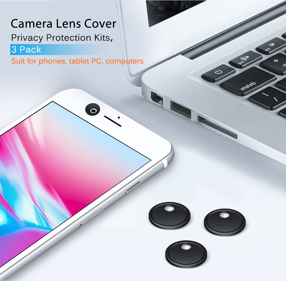 3 Pack Laptop Camera Cover Cover Slider Stickers For Computer Macbook Webcam