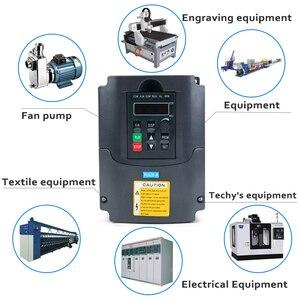 Image 5 - 2.2KW 220V VFD Inverter 3KW 4KW 5.5KW 7.5KW Frequency Inverter Converter 1P input 3P Output 220V For CNC Spindle motor