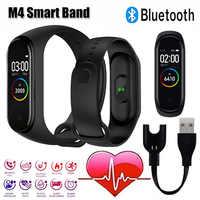 Smart band m4 Bluetooth Sport uhr Wasserdichte Schrittzähler Herz Rate Blutdruck fitness band smart armband Für Android IOS