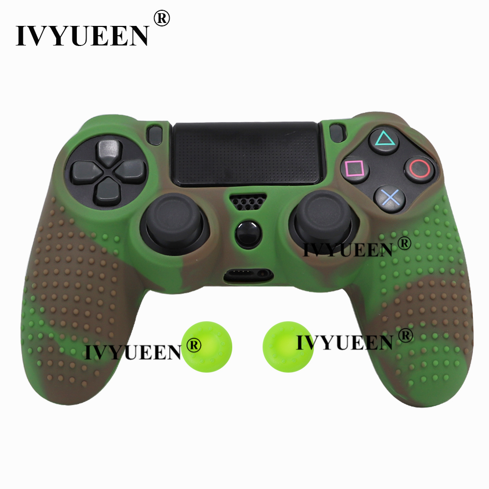 for Sony PlayStation dualshock 4 ps4 pro slim controller silicone case skin 16