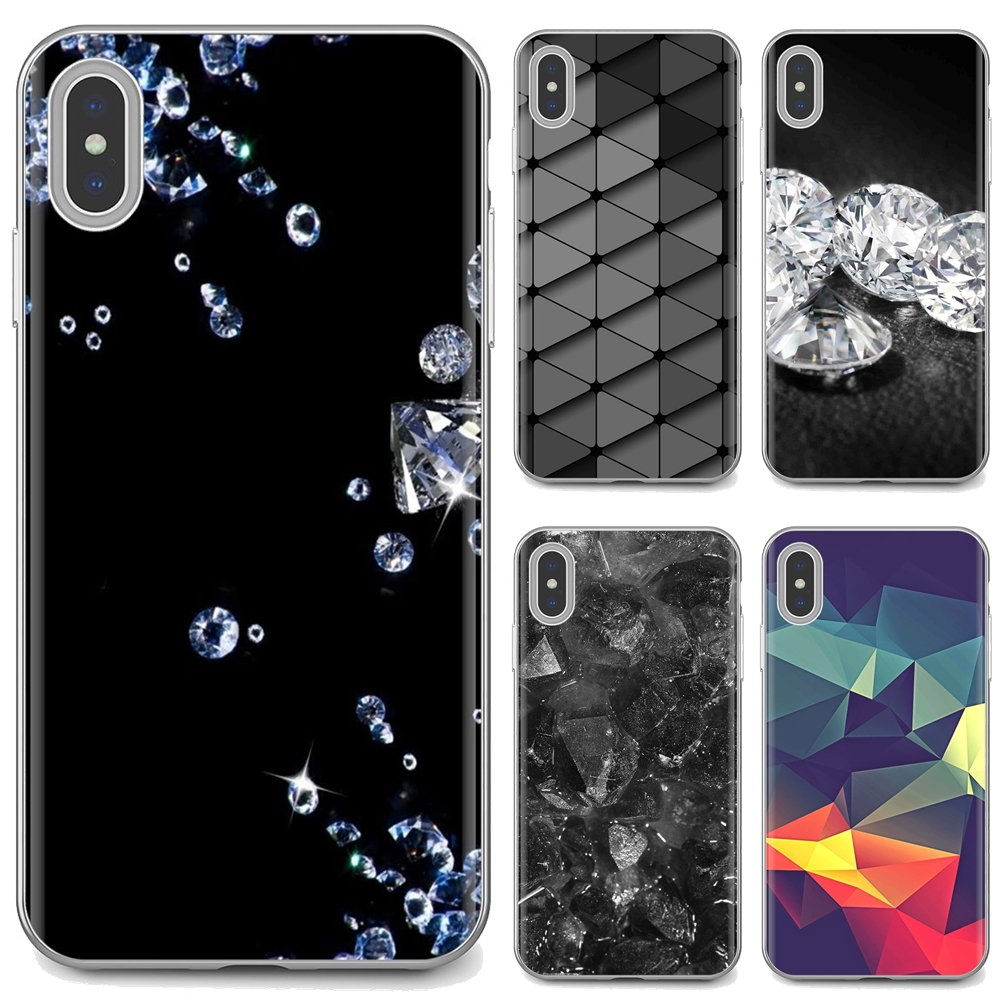 3d Diamonds Whatsapp Wallpaper For Samsung Galaxy A10 A30 A40 A50 A60 A70 S6 Active Note 10 Plus Edge M30 Soft Bag Case Fitted Cases Aliexpress