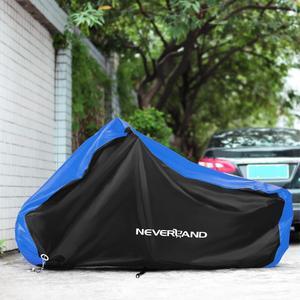 Image 5 - 190T Nero Blu di Disegno Impermeabile Moto Coperture Motori Polvere Pioggia Neve UV Della Copertura Della Protezione Indoor Outdoor M L XL XXL XXXL D35