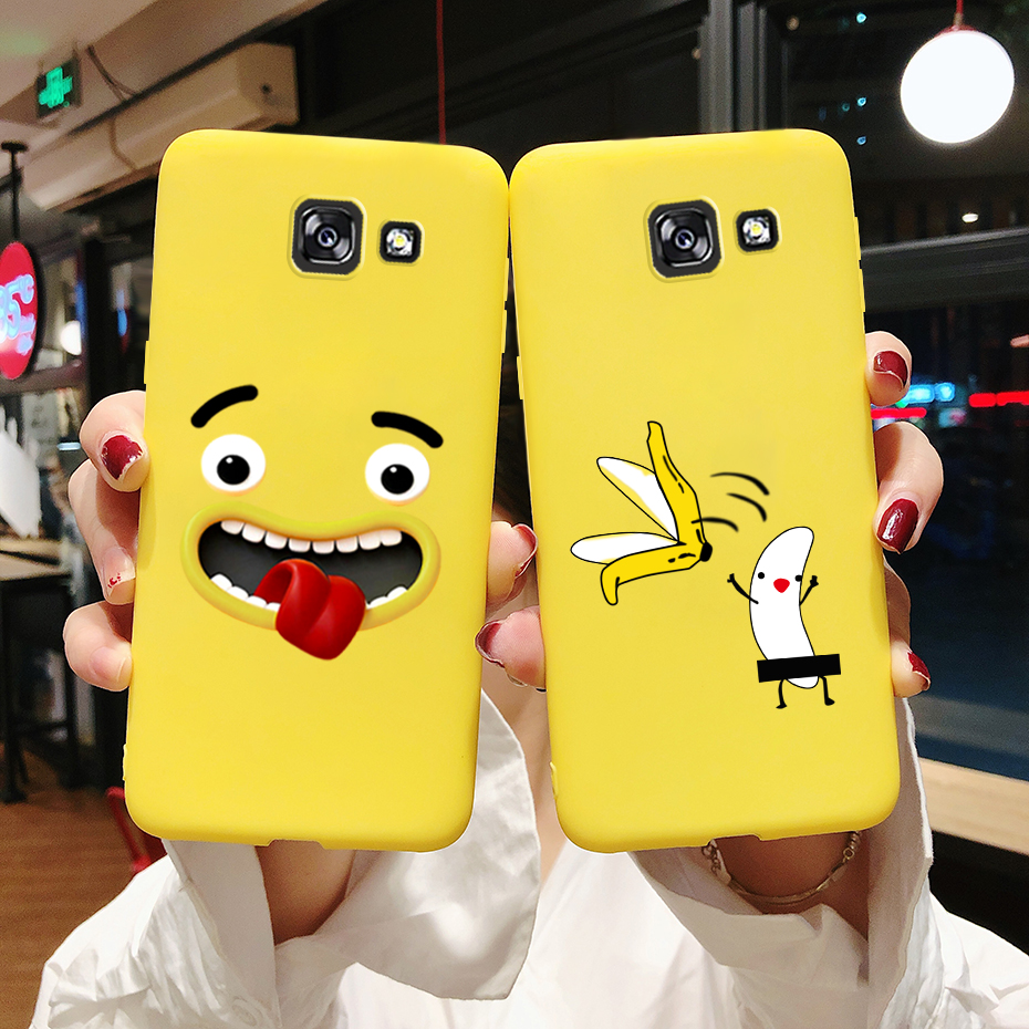 Case for <font><b>Samsung</b></font> Galaxy A5 2017 TPU Painted Silicone Soft <font><b>Back</b></font> Coque Funda Phone Case for <font><b>Cover</b></font> <font><b>Samsung</b></font> A5 2017 <font><b>A520</b></font> A520F Cases image