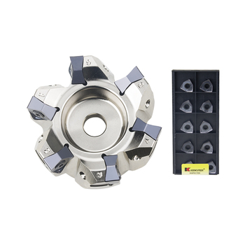 90 degree MFWN90100R MFWN90050R double-sided hexagonal plane heavy cutting milling cutter disk with WNMU080608 blade - discount item  36% OFF Machinery & Accessories