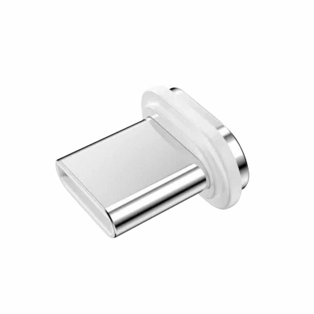 Micro USB adaptador de repuesto para Cable magnético para XiaoMi para Huawei micro USB adaptador de transferencia rápida de datos a la computadora 20 #23