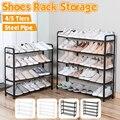 Многослойная сборная стойка для обуви, экономичная стойка для обуви, органайзер для гостиной, мебели, шкаф для хранения обуви