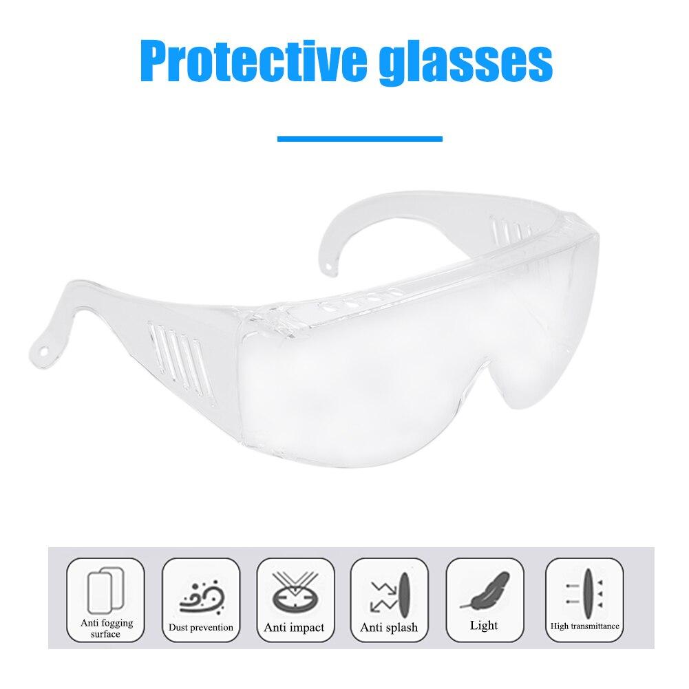 Dust-proof Anti-splash Protective Glasses Windproof Safety Goggles Lab Dental Eyewear Splash Eye Protective
