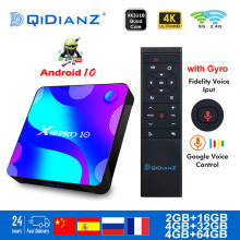 Smart TV BOX android 10 X88RRO10 RK3188 4K podwójny Wifi BT Netflix odtwarzacz multimedialny tv box szybki dekoder vs IPTV HK1MAX H96max6 A95X(China)