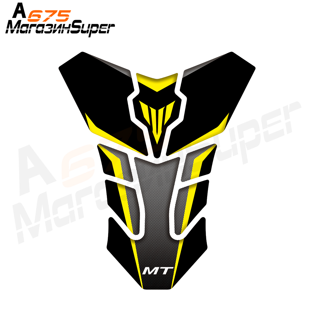 3D Motorcycle Tank Pad Decal Protector <font><b>Stickers</b></font> Fit for YAMAHA MT-03 MT-07 <font><b>FZ</b></font>-07 MT-09 <font><b>FZ</b></font>-09 MT-10 image