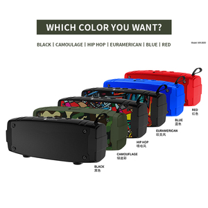 Image 2 - New Portable Bluetooth Speaker Super Bass Wireless Loudspeaker 3D Stereo Music Surround With Mic FM TFCard Aux Outdoor Speaker