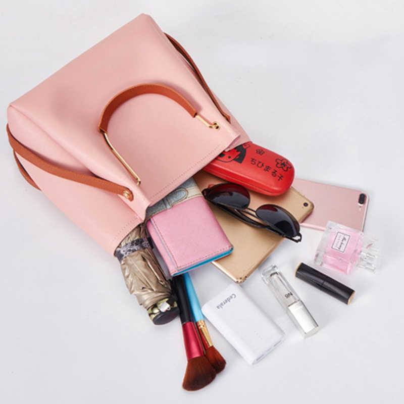 Ember Tas Fashion Wanita Leisure Single Tas Bahu untuk Wanita Top-Handle Totes Tas Selempang Pack Dompet Selempang Wanita tas