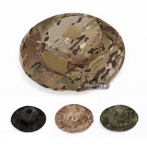 Chapéu com Mapa Bolsa para a Caça ao ar Emerson Tático Militar Boonie Livre Pesca Hinking Exército Airsoft Sniper Headwear Chapéus