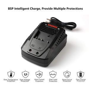 Image 3 - Сменное зарядное устройство 3.0A для Bosch 14,4 в 18 в, аккумулятор BAT609G BAT618 BAT618G BAT609, зарядное устройство для литиевых батарей быстрой зарядки