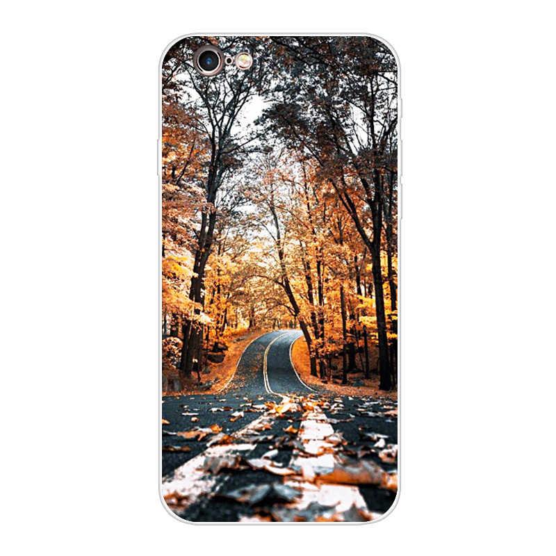 עבור iphone 5s 5 S Se 4 4S מקרה רך TPU טלפון מעטפת כיסוי עבור Apple iphone 6s 6 S בתוספת Fundas Coque Etui פגוש