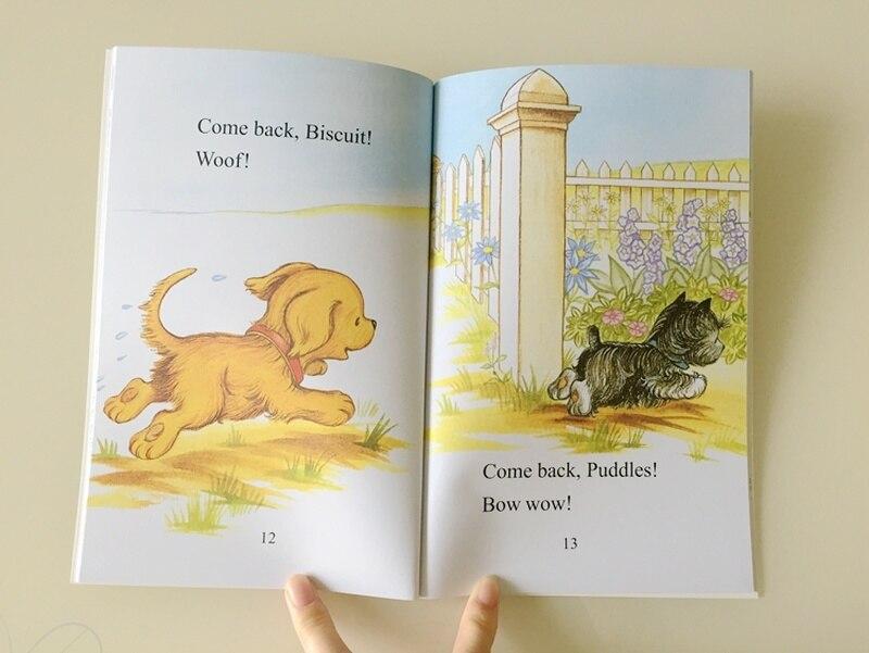 22 livres/ensemble Biscuit série anglais livres d'images je peux lire livre d'histoire pour enfants livre de lecture d'éducaction précoce pour les enfants - 6