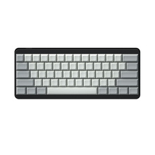 IDOBAO ריק 61 64 68 ANSI dsa keycaps פרופיל עבה PBT Keycap עבור דובדבן MX מקלדת מכאנית GH60 XD64 GK64 tada68