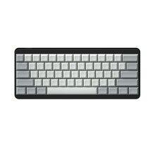 IDOBAO Blank 61 64 68 ANSI dsa колпачки для клавиш профиль толстый PBT колпачок для механической клавиатуры Cherry MX GH60 XD64 GK64 Tada68
