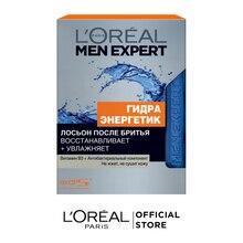 """L'Oreal Paris Men Expert Лосьон после бритья """"Гидра Энергетик"""" с антибактериальным эффектом, увлажняющий, 100 мл"""