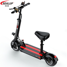 three wheel electric tricycle 8 inch 3 wheels electric bicycles seat max range 50km 48v 500w foldable kick electric scooter Great performance portable foldable GPS electric bicycle 36V 48V 10 inch 150KM-50KM 500W li-ion battery brushless e-bicycle CE