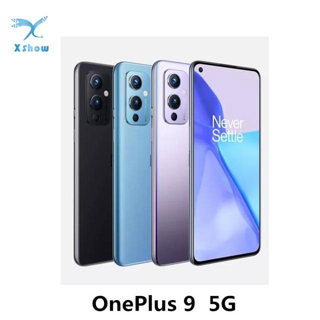 OnePlus 9 5G Snapdragon 888 8GB RAM 128GB ROM Smartphone 6.55'' 120Hz Fluid AMOLED Display Hasselblad Camera Mobile Phone 1