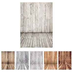 Image 1 - Photographic Backdrop Vintage Wooden Wall Floor Vinyl Cloth Photography Backgrounds for Photo Studio Fotografia Baby Photophone