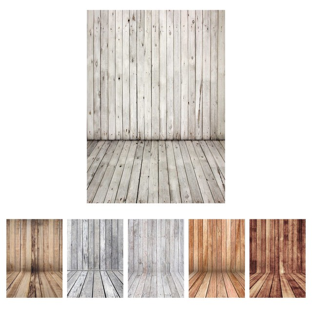 Photographic Backdrop Vintage Wooden Wall Floor Vinyl Cloth Photography Backgrounds for Photo Studio Fotografia Baby Photophone