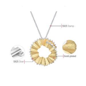 Image 5 - Женский кулон «карандаш» Lotus Fun, кулон ручного изготовления без цепочки из настоящего серебра 925 пробы, ювелирное изделие в подарок