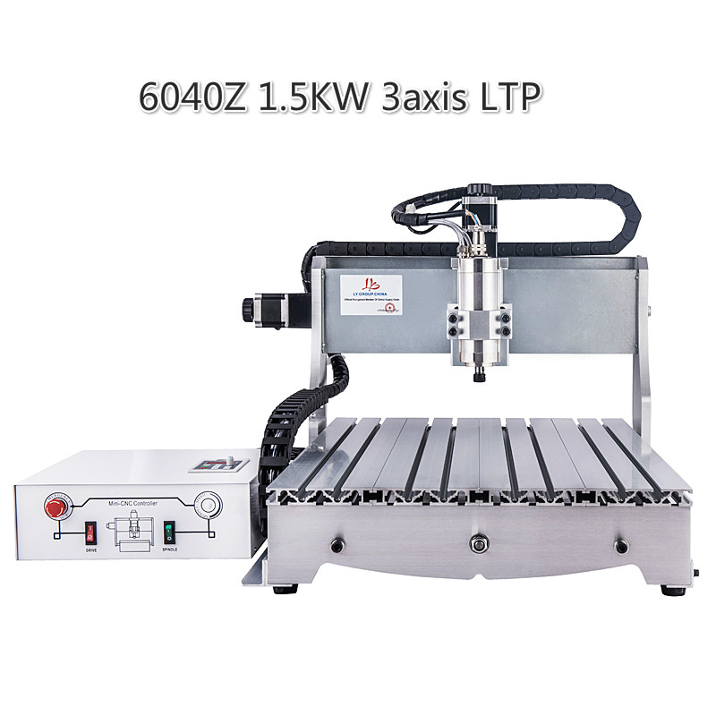 CNC Router Engraver 6040Z 1.5KW 3axis Milling Machine Parallel Port