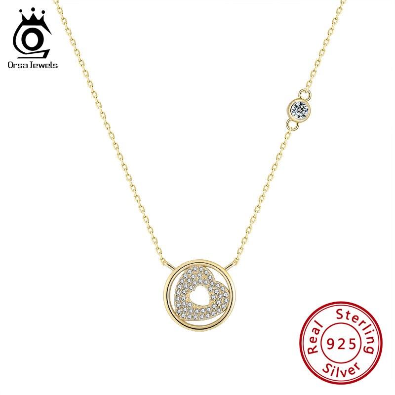 Silver Vintage Heart Necklace