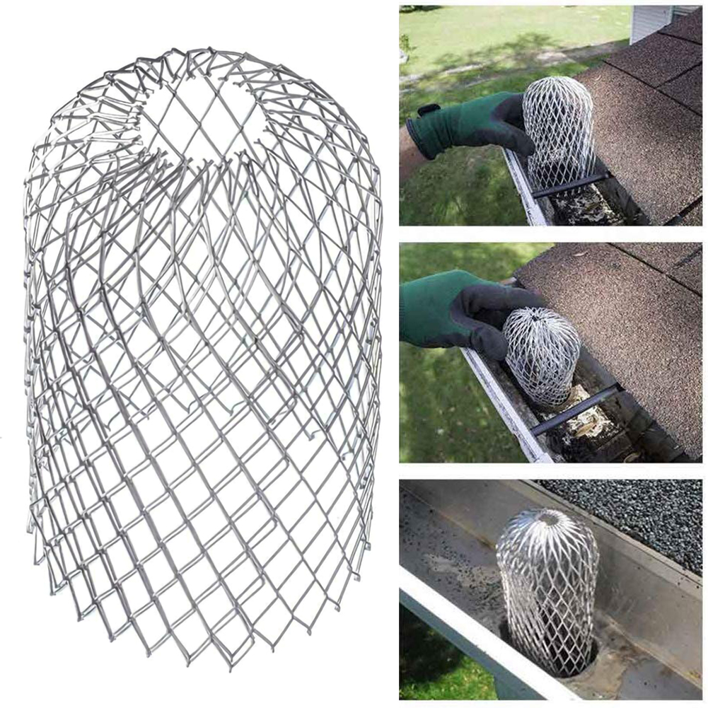 Gardening Tools And Equipment Gutter Guard Drain Floor Stainless Steel Filter Strainer Stops Leaves And Easy To Clean Leaves