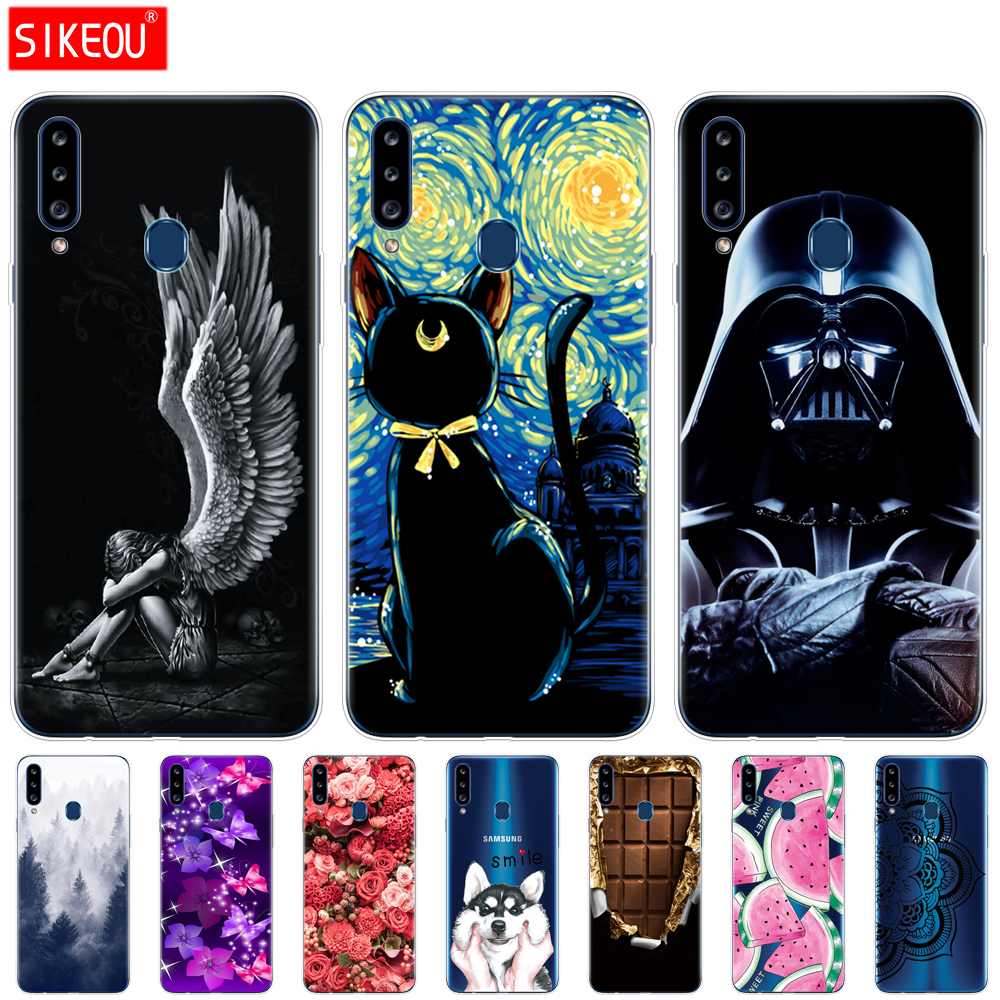 silicon case For <font><b>Samsung</b></font> <font><b>Galaxy</b></font> <font><b>a20s</b></font> Case <font><b>Galaxy</b></font> <font><b>a20s</b></font> Soft TPU Coque Bumper Phone Cover For <font><b>Samsung</b></font> <font><b>A20s</b></font> A 20s a207 SM-a207f image