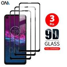 Protecteur d'écran pour Motorola Moto One Action, Film en verre trempé à couverture complète Premium