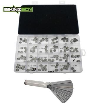 BIKINGBOY 47pcs/94pcs/141pcs 7.48mm Valve Shim Blade Feeler Gauge For Honda VFR800 VFR800FI VF 750 C CD Magna GL 1800 Gold Wing