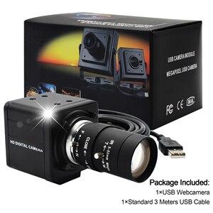 Image 4 - Высокоскоростная USB камера 1080P HD MJPEG 60fps/120fps/260fps UVC с датчиком OmniVision OV4689 CMOS USB PC веб камера с варифокальным объективом CS