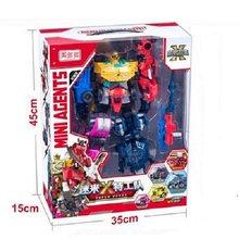 Miniforce x transformação brinquedo 6 estilos mini agente brinquedos x volt semey figura de ação da força aérea conjunto presentes do feriado para o jogo do miúdo
