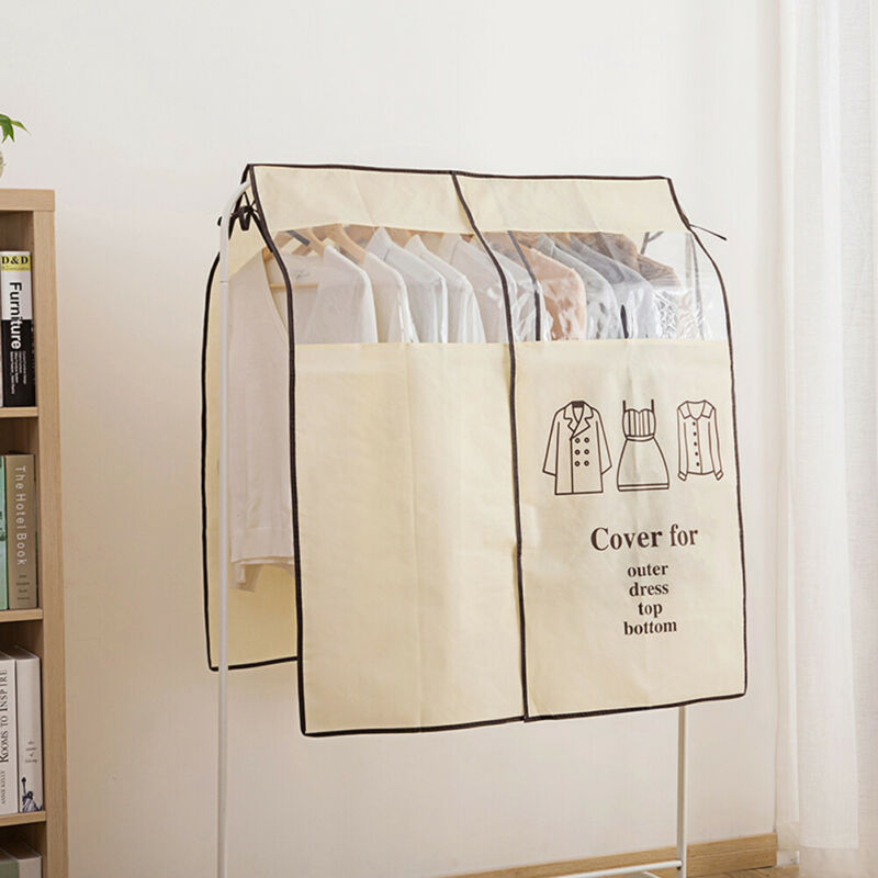 2020 New Floor-standing Dust Bag For Clothes Dress Coat Dust-proof Clothes Cover Home Storage