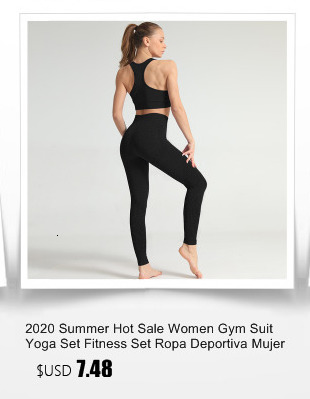 2020 Summer Hot Sale Women Gym Suit Yoga Set Fitness Set Ropa Deportiva Mujer Gym Yoga clothing Women Yoga Suit