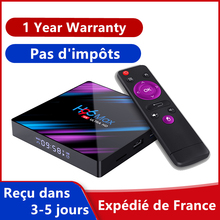 H96 MAX Android 9.0 IPTV BOX RK3318 Quad core Dual wifi BT 4K media player h96max android tv box support Smart TV