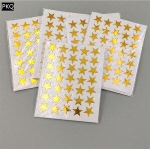 Image 4 - Autocollants auto adhésifs étoile colorée, autocollants récompenses, autocollants amusants, pour papeterie denseignant, 10 feuilles/sachet, 15 sachets
