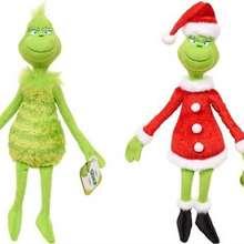 18 см 32 Гринч плюшевые игрушки зеленый мохнатый чучело мультфильм