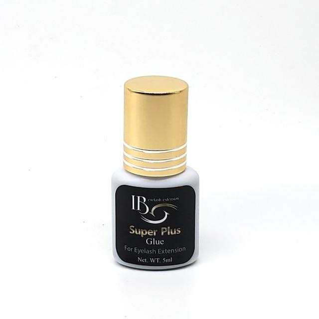 جديد وصول الأصلي كوريا IB Ibeauty سوبر بلس الغراء ل رمش ملحقات الأسود الغراء غطاء ذهبي 5 مللي 1s سريع الجافة شحن مجاني
