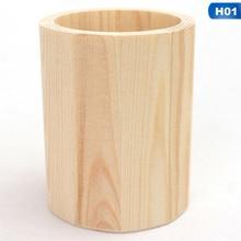 Pen-Holder Office-Desk-Organizer Wooden Multifunctional Fashion Simplicity-Design Lovely
